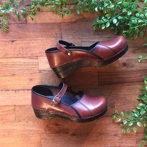 Dansko leather shoe